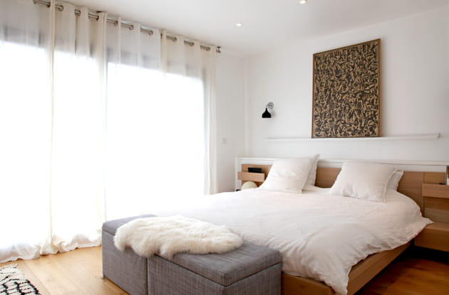 Chambre lumineuse et moderne