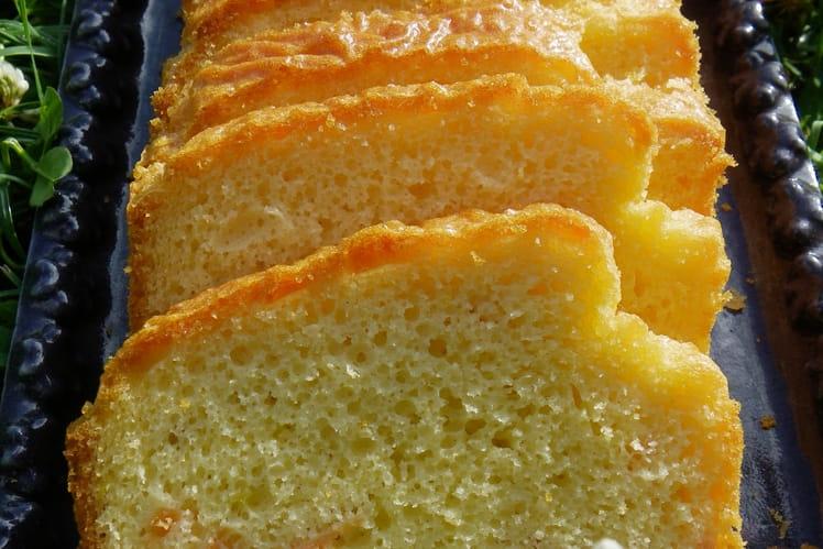 Cake à la truite fumée et au citron
