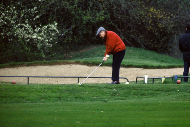 Partie de golf, avril 92