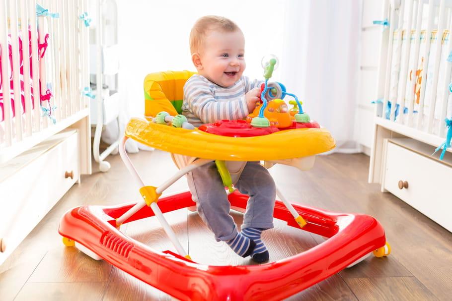 Meilleurs trotteurs: quel modèle choisir pour bébé?
