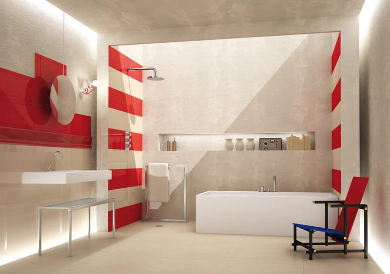 Quel rev tement pour ma salle de bains - Papier peint salle de bain castorama ...