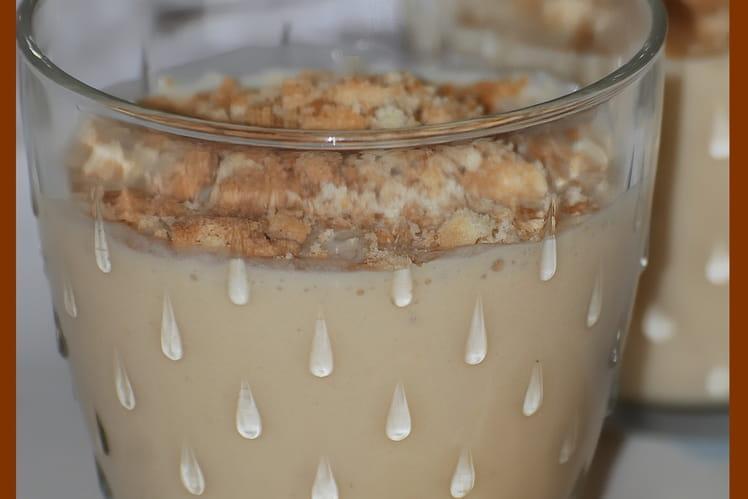 Smoothie banane et confiture de lait