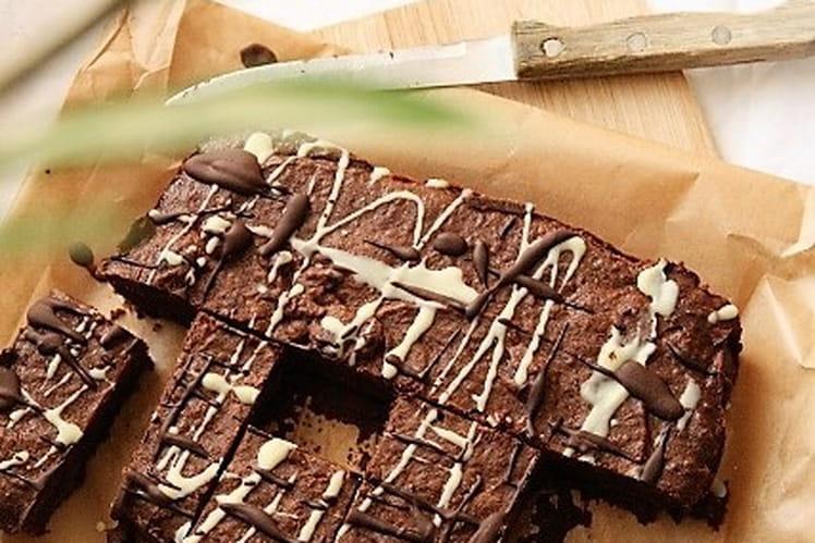 Brownie bio sans gluten, sans lait et sans oeufs