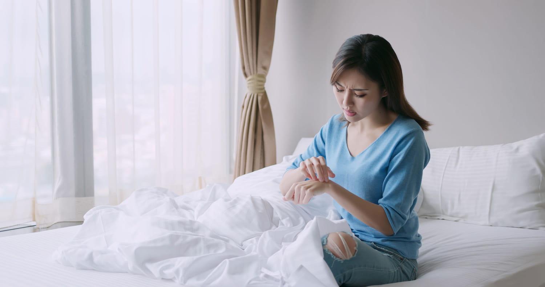 Comment mieux dormir malgré l'eczéma?