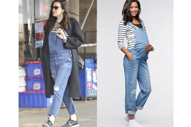 Liv Tyler : une salopette en jean