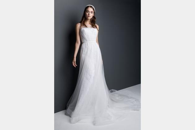 Robe de mariée ceinturée de Georges Hobeika