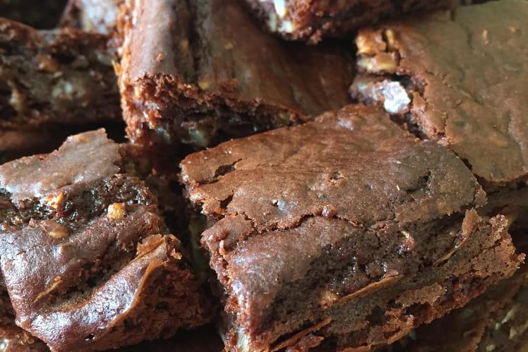 Brownies au chocolat tout végés