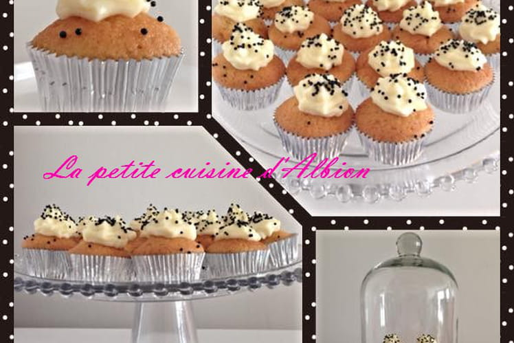 Minis cupcakes à la vanille