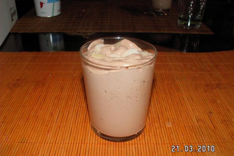 Mousse au chocolat au lait au siphon