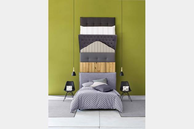 t te de lit molto de fly. Black Bedroom Furniture Sets. Home Design Ideas