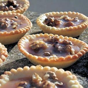 mini tartelettes noix et caramel