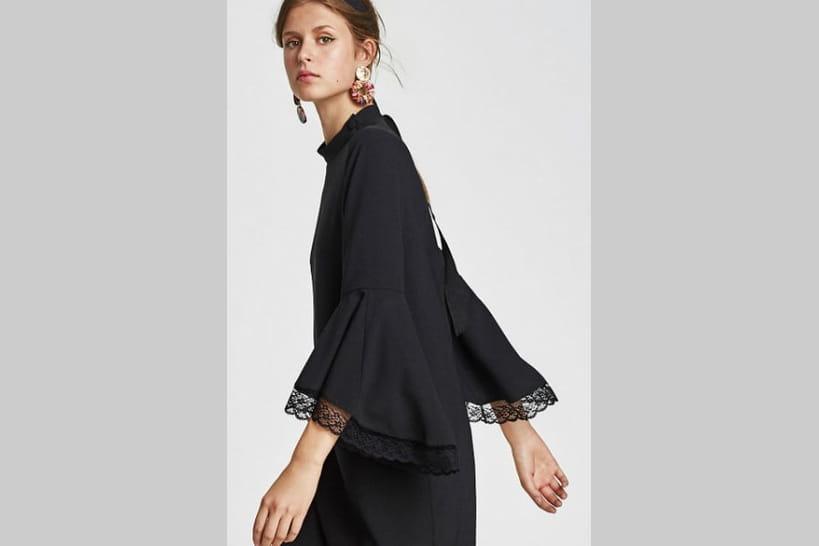 Robes B6y7fg Printemps Zara Les Été 2018 Noires Du Petites LSVGzjqMpU