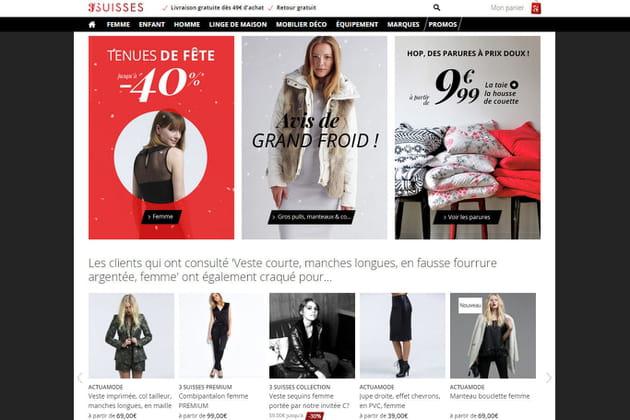 Le e-shop des 3 Suisses