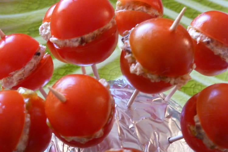 Sucettes tomate fraicheur