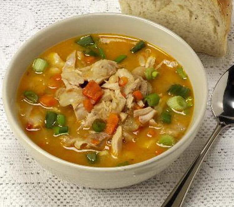 recette de soupe chinoise au poulet la recette facile