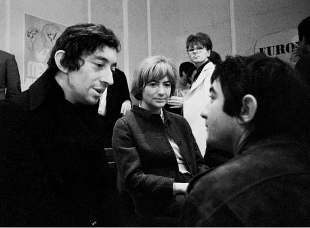 Serge Gainsbourg et Françoise Sagan, 1968