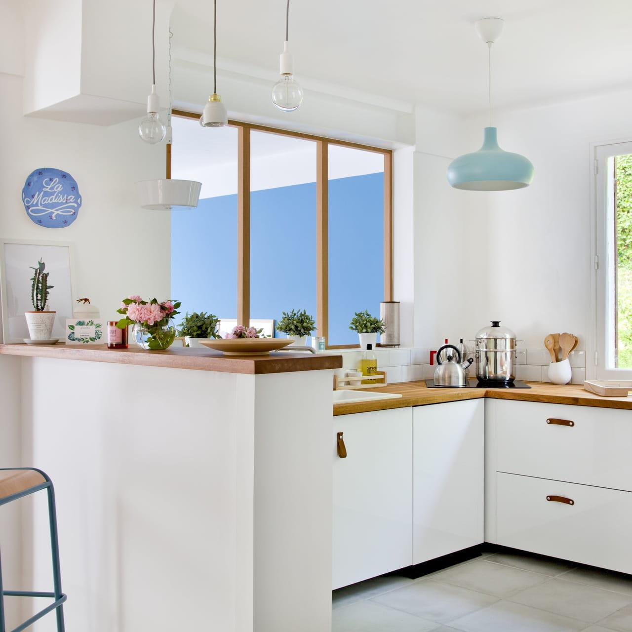 Cuisine blanche : 55 photos pour une pièce ultra lumineuse