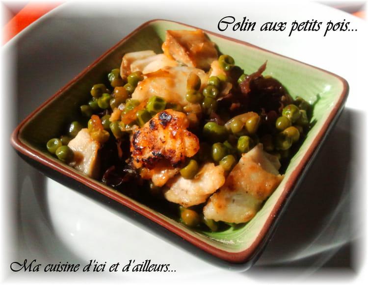 Recette de colin aux petits pois la recette facile - Cuisiner les petits pois ...
