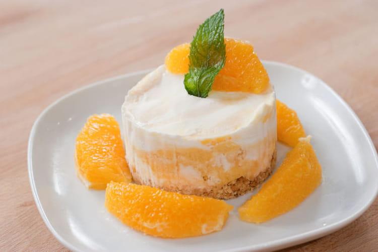 Cheesecake glacé aux agrumes