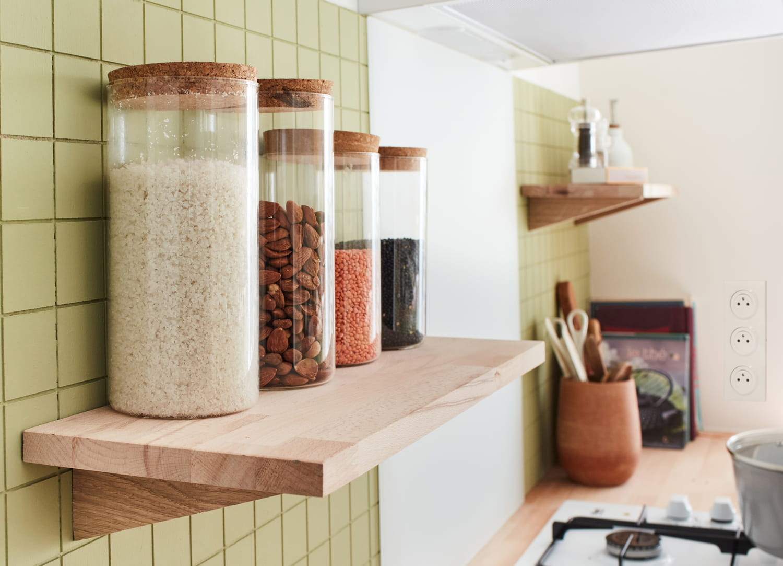 Organiser la cuisine avec des bocaux: mode d'emploi