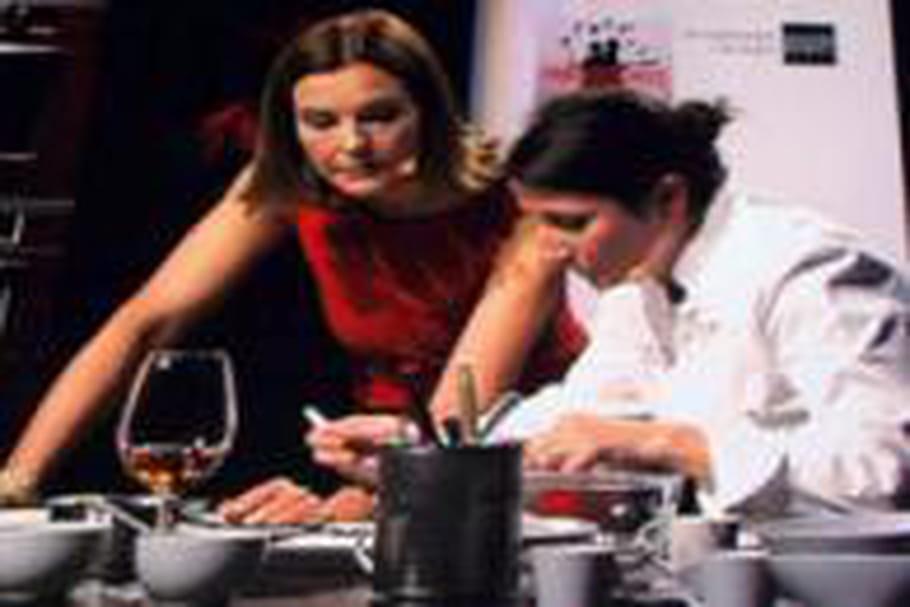 Paris des Chefs: Anne-Sophie Pic et Carole Bouquet en duo créatif