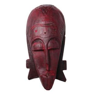 le masque africain de l'atelier du chocolat