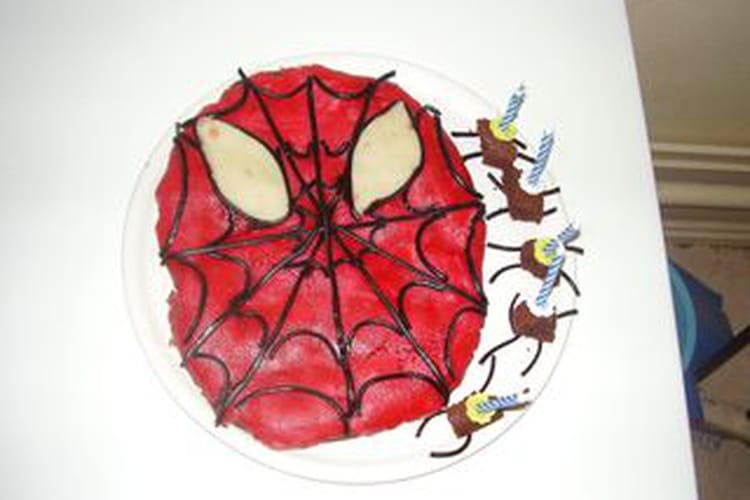 Gâteau d'anniversaire au chocolat \