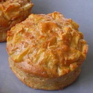muffins légers au pommes