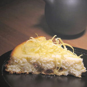 dolce di ricotta al limone (cheesecake italien)