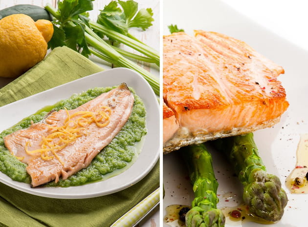 Filet de truite ou pavé de saumon?