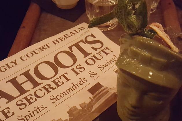 Cocktail 50's chez Cahoots