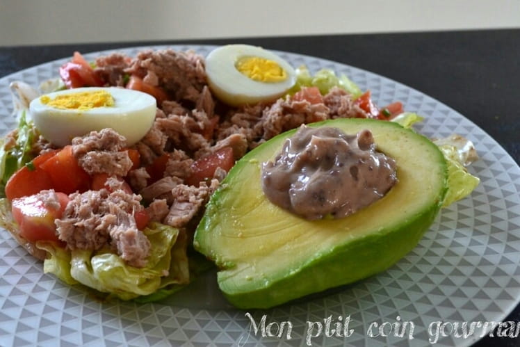 Salade fraîcheur et sa mayonnaise maison