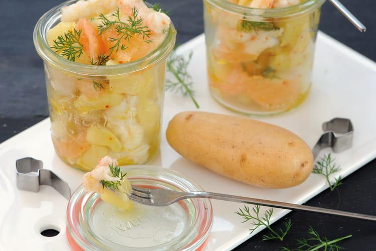 Verrines de pommes de terre Juliette