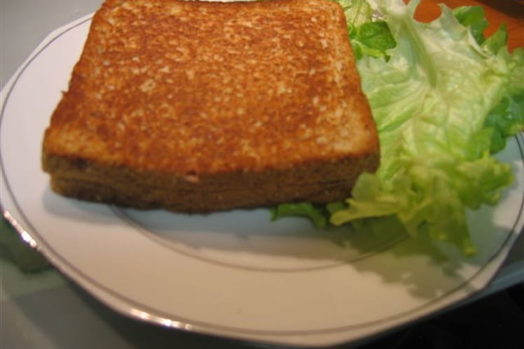 Croque-monsieur italien