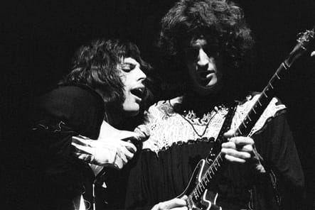 Freddie Mercury et Brian May