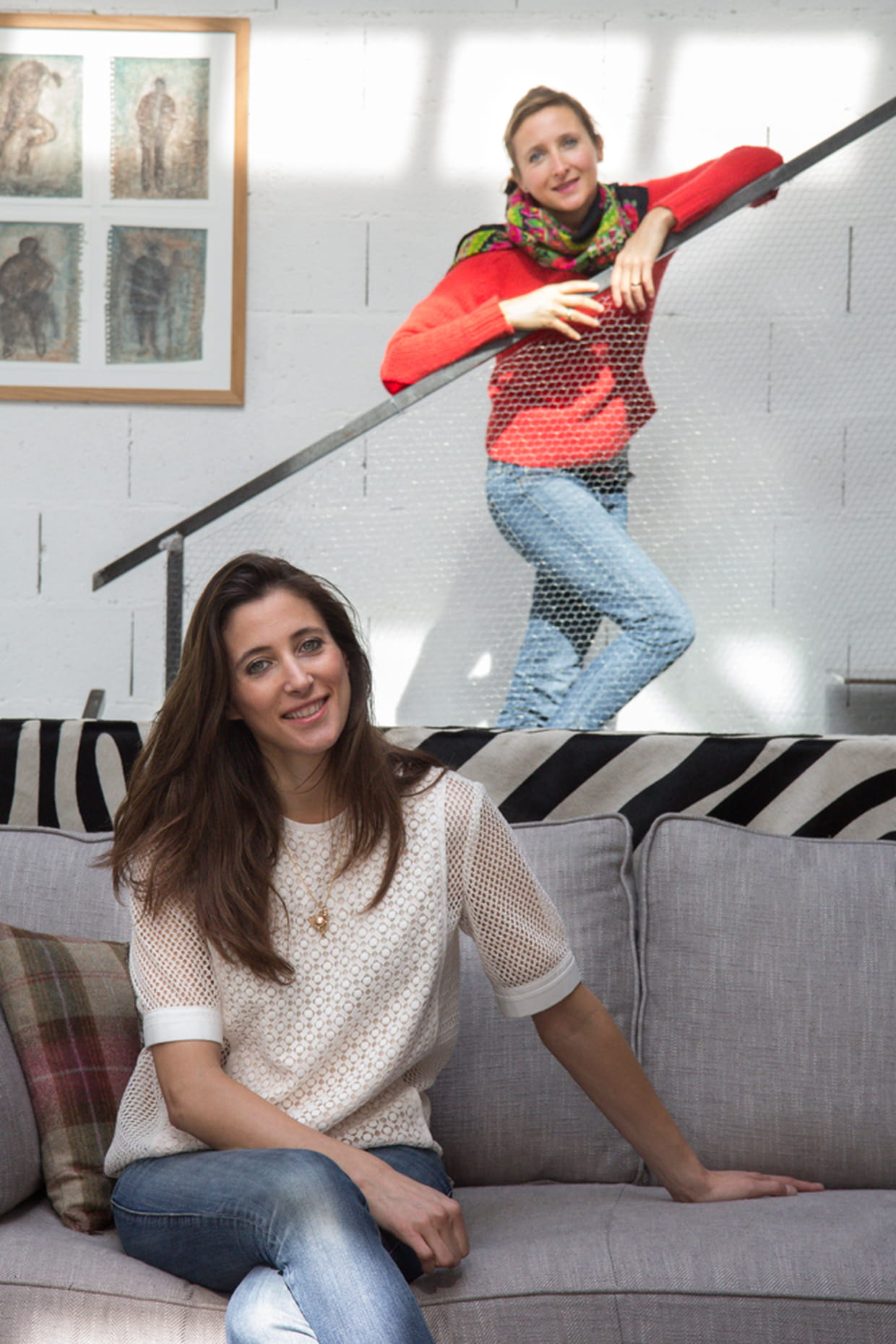 la d co un lien fort entre deux soeurs. Black Bedroom Furniture Sets. Home Design Ideas