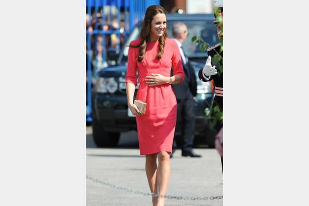 Kate Middleton le 1er juillet 2014