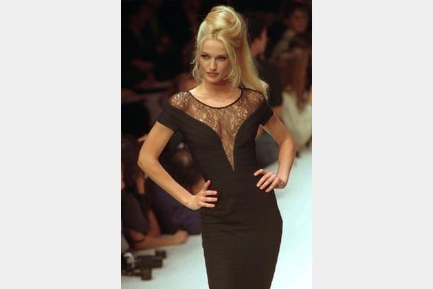 Karen Mulder le 18octobre 1995