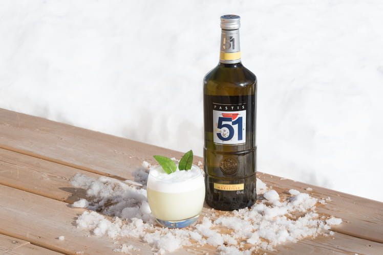 Le flocon des neiges Pastis 51