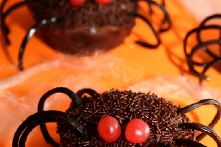 Spider Cupcake d'Halloween