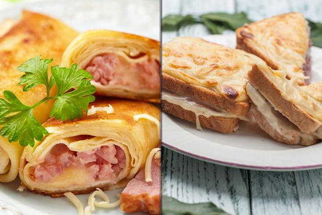 Crêpe jambon/fromage ou croque-monsieur?