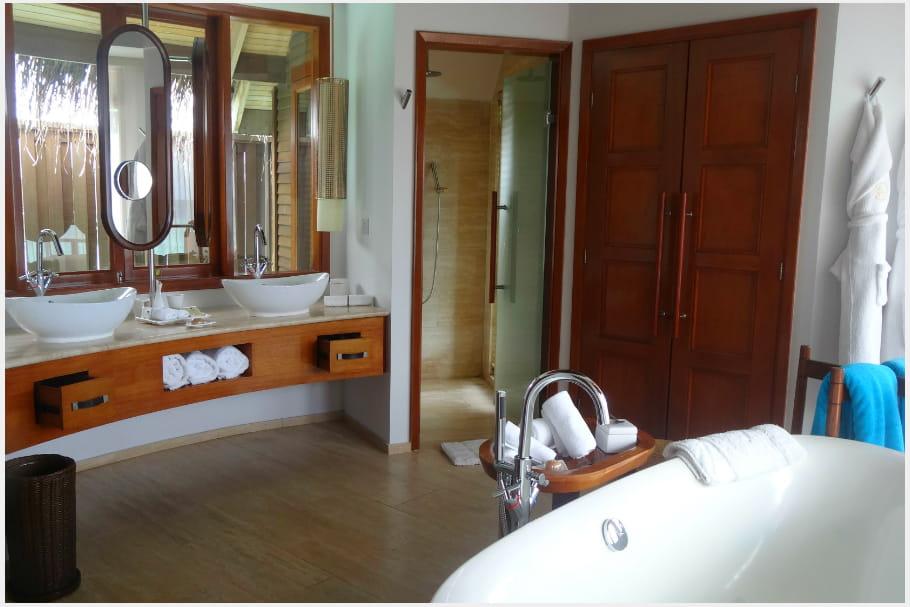 Une salle de bain digne d'un spa