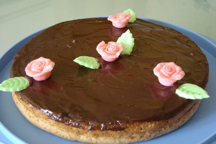 Gâteau à la crème au chocolat