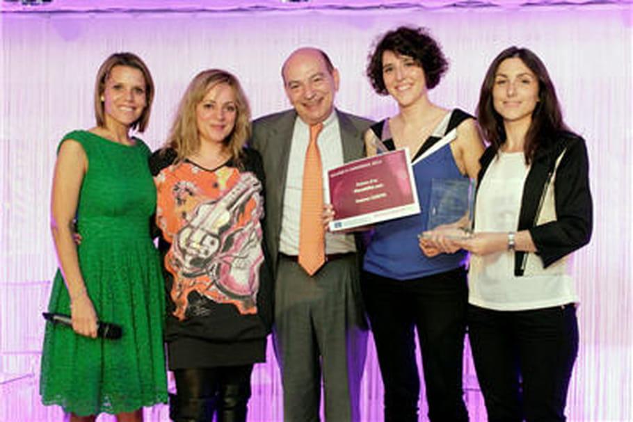Mondéfilé.com obtient la palme d'or du e-commerce 2012