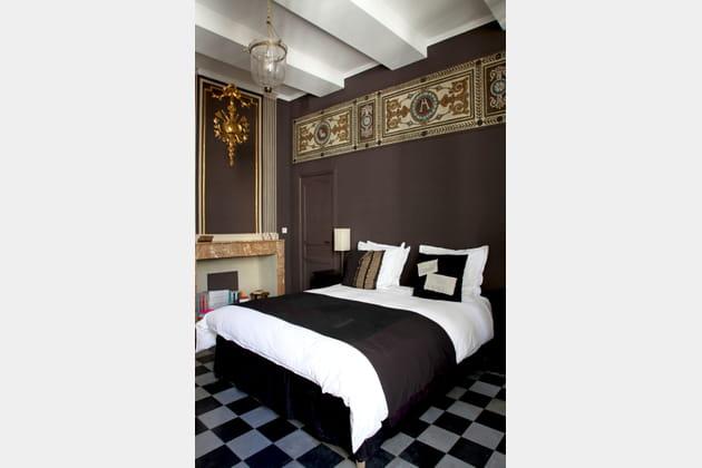 Une chambre de roi