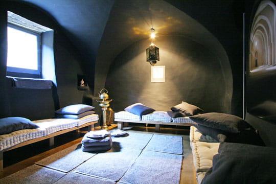 Un salon pour le hammam