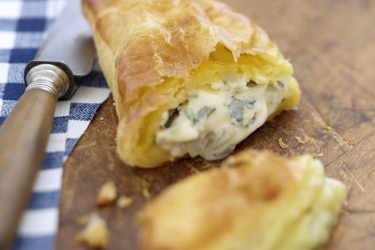 Bresse Bleu dans son gourmand chausson de poires