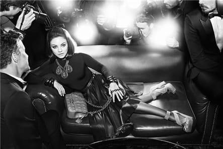 Mila Kunis, star rétro pour Dior