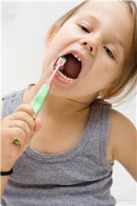 soins dentaires chez les enfants.
