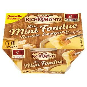 la mini fondue recette savoyarde de richesmonts